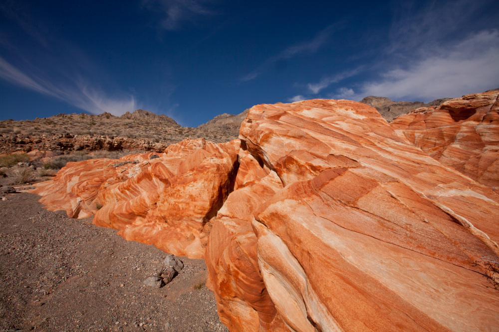 Rock Formations Near the Valley of Fire, Nevada