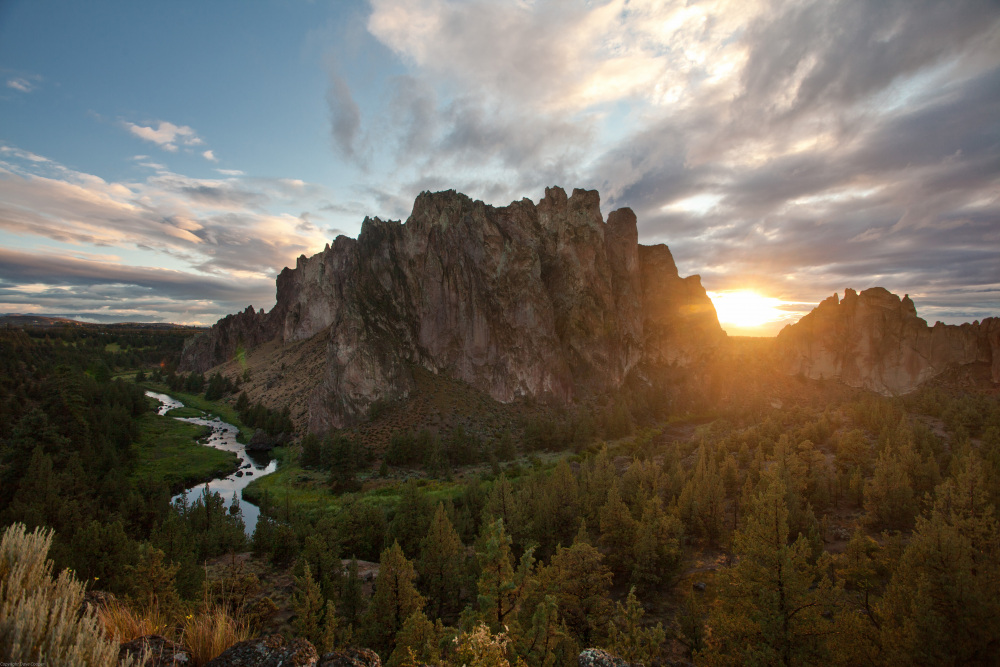 Sunset - Smith Rock State Park