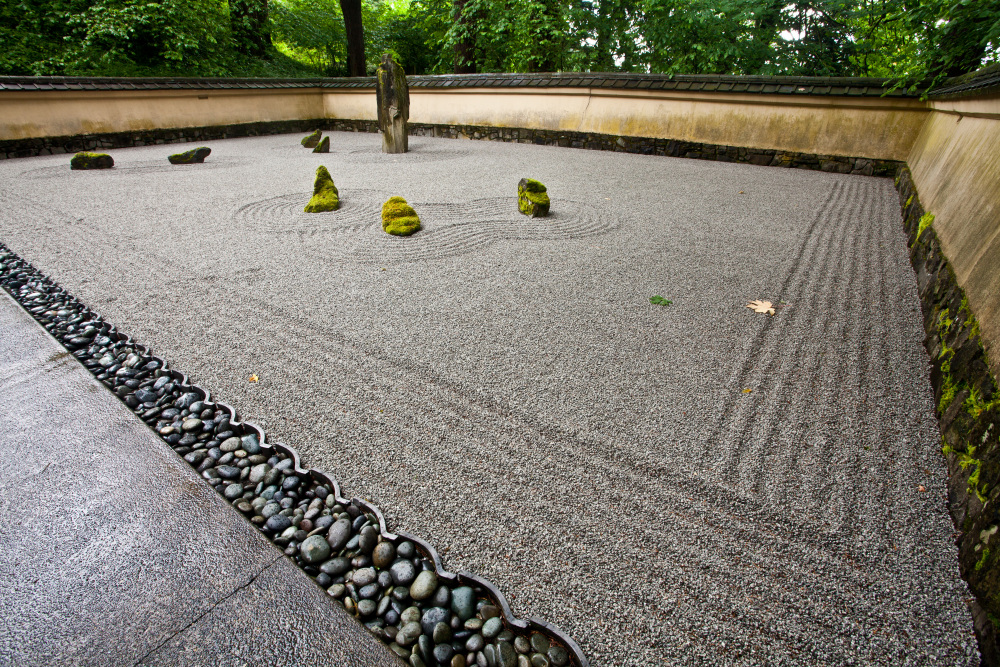 Zen Garden - Japanese Gardens, Oregon