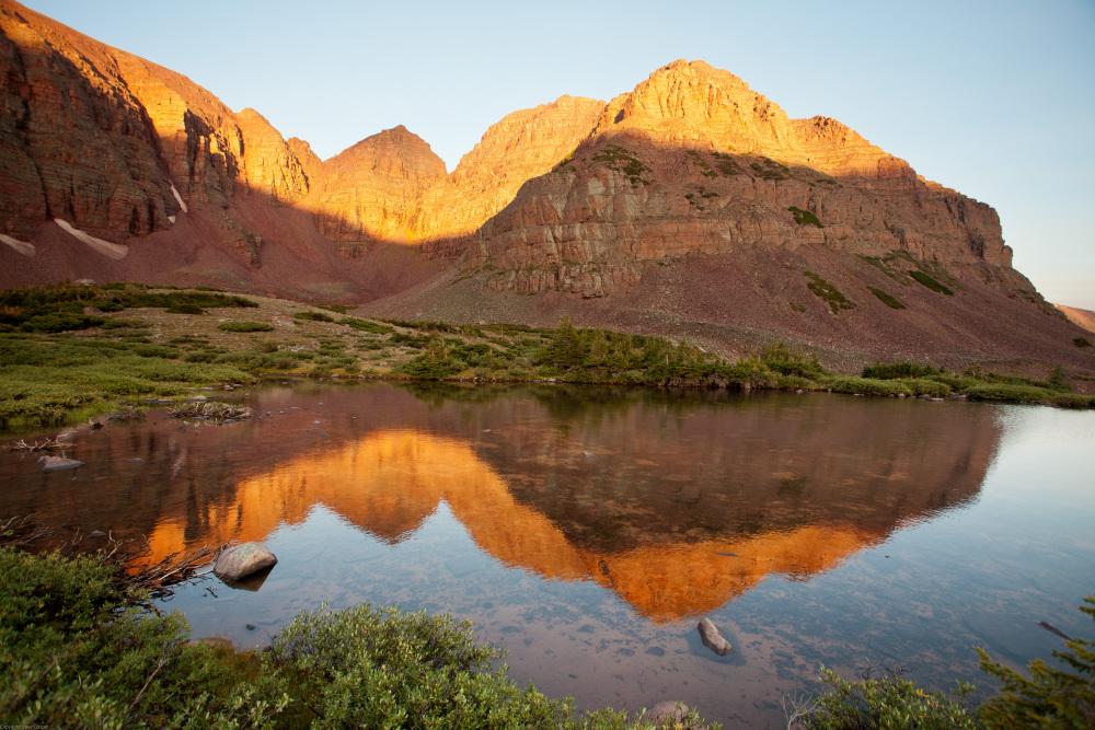 Red Castle - Uintah Mountains, Utah