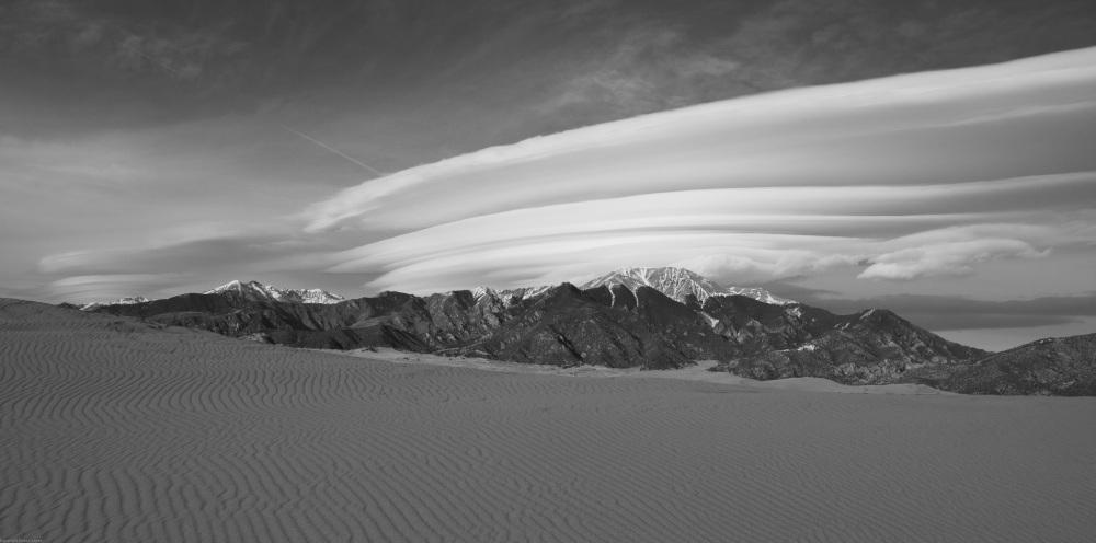 Wind and Sand - Sangre de Cristo Range