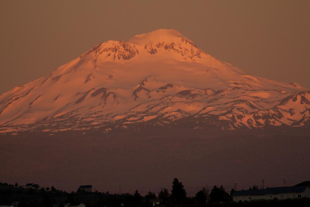 Mount Jefferson at Sunrise - Oregon