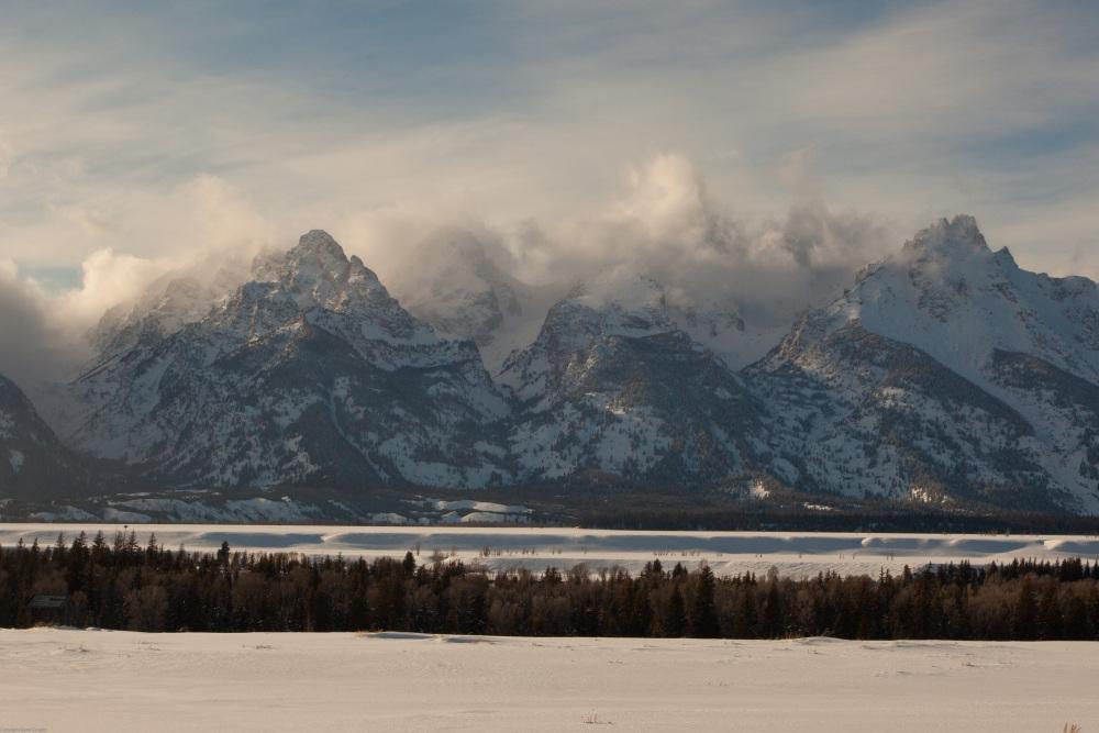 Winter Storm - Grand Teton NP