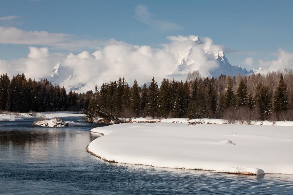 Contrasts - Storm and Calm - Grand Teton National Park