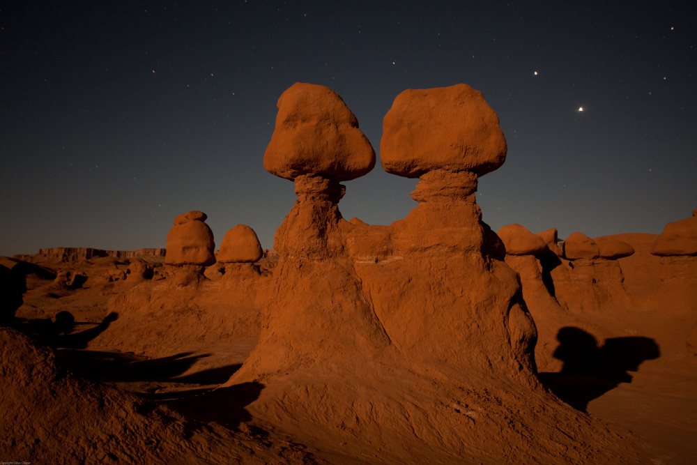 Moonlight and Goblins - Goblin Valley State Park