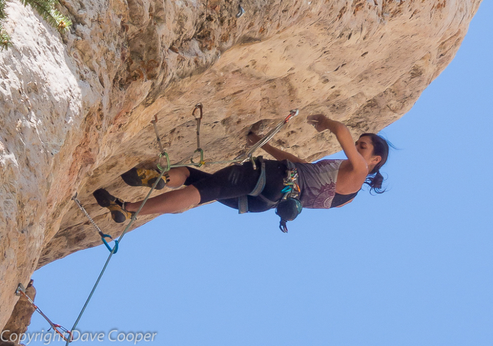 Steep Climbing, Ten Sleep, Wyoming