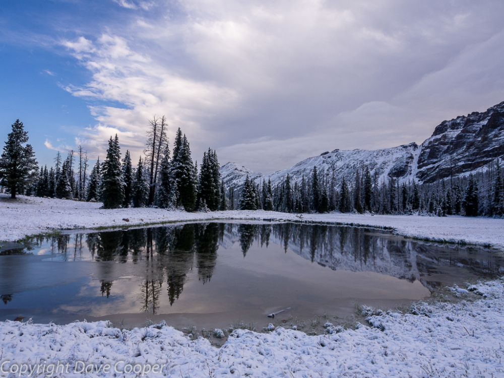 August Snowfall, Uinta Mountains, Utah
