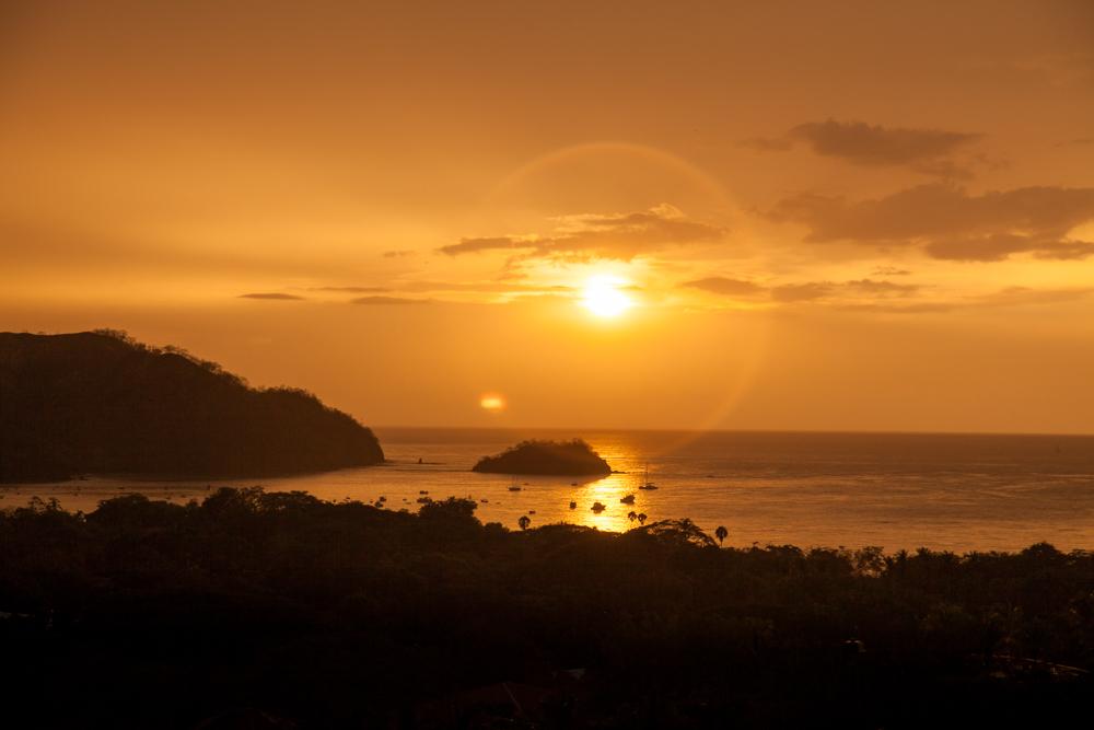 Guanacaste Sunset, Costa Rica harbor