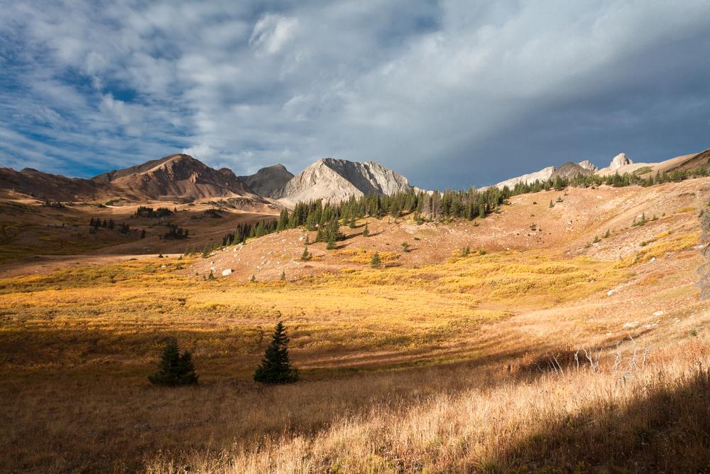 Nokhu Crags Fall Sunrise, Colorado