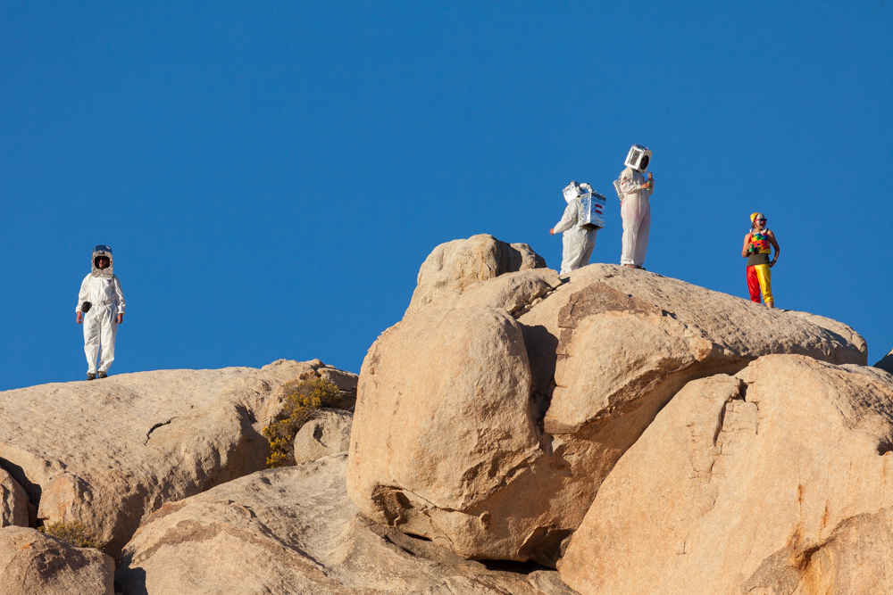 """""""Alien Invasion"""", Halloween, Joshua Tree National Park"""